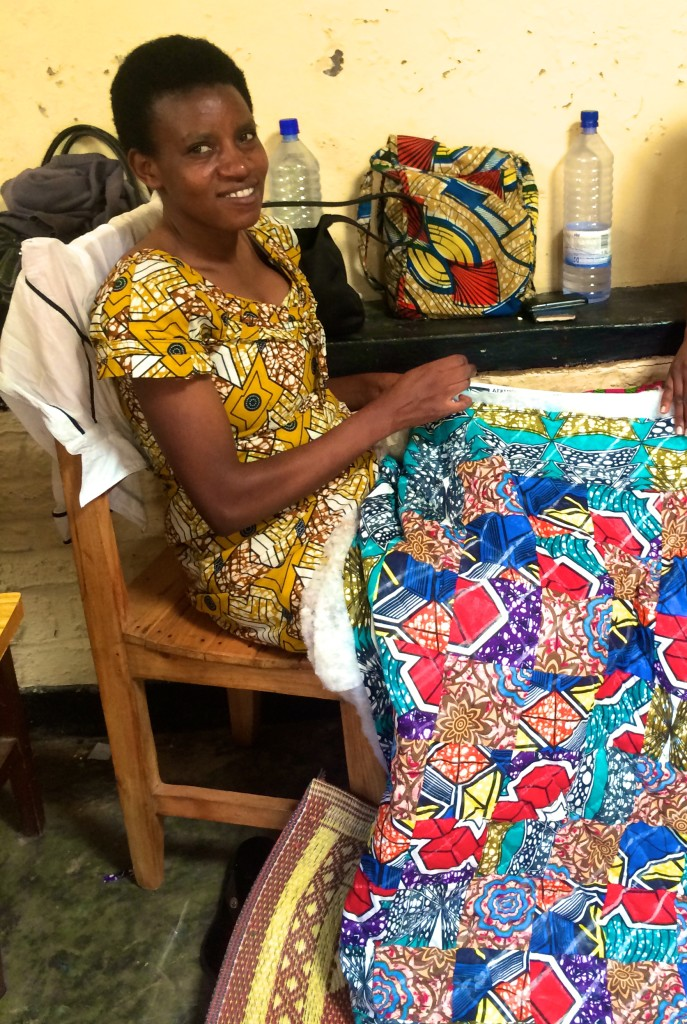 A Seamstress for Tubahumurize Association
